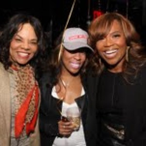 Jamie Foster Brown, K.Michelle and Mona Scott
