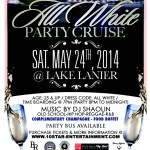 [Special Announcement] All White Party Cruise Sailing This Saturday