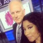 Nicki Minaj Drops By ESPN's SportsCenter to Show Why She is Too Sexy for Her Spikes