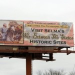 KKK Signed Erected To Welcome President Obama to Selma