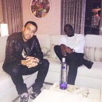 """French Montana Shows Effen Vodka Some Love """"Shout Out To Effen vodka,That Shit Kind Of Watered Down, But I Love It"""""""