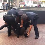 Shocking!! 14 San Francisco Cops Abuse Handicap Black Man #BlackLivesMatter
