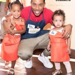 "Celebrity Spotlight: Rapper/Actor Christopher ""Ludacris"" Bridges Doing Charity Work with His Daughters"