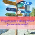 The COMPLETE Moving Abroad Checklist for Newbie Expats