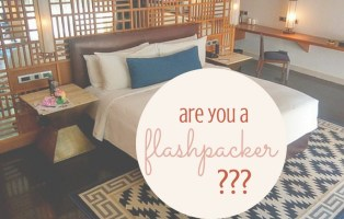 what is a flashpacker, signs you are a flashpacker