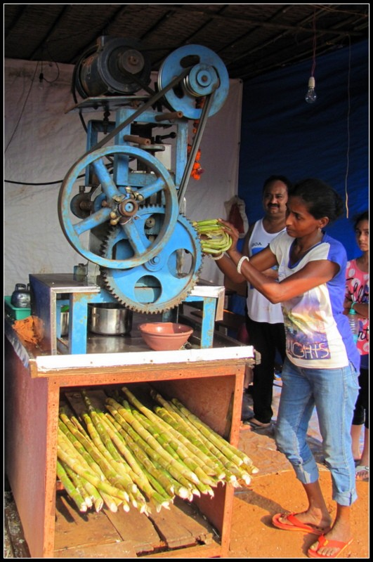 sugar cane juice india