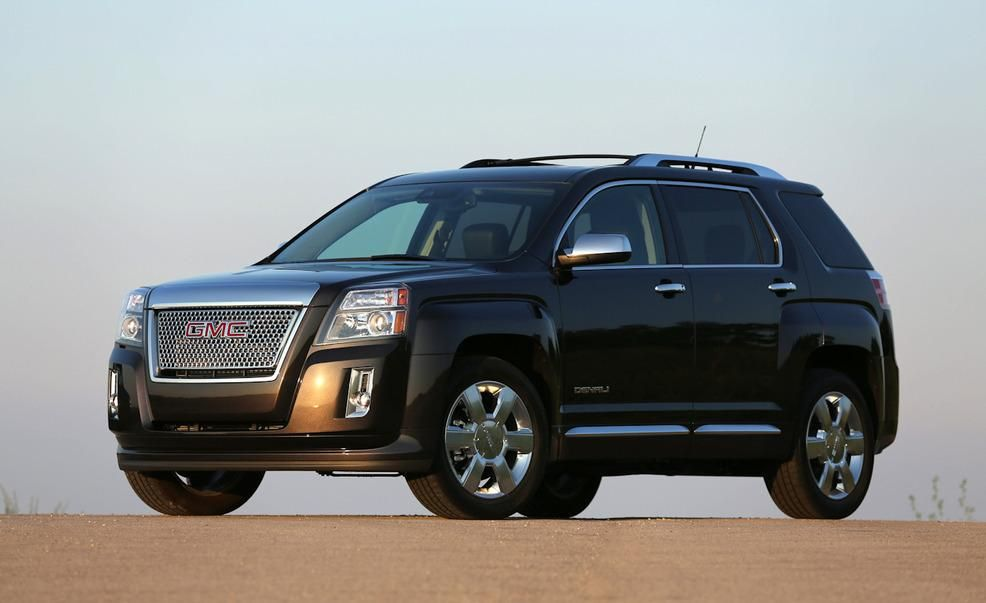 2013 GMC Terrain Denali 3 6 V6 First Drive   Review   Car and Driver 2013 GMC Terrain Denali 3 6 V6