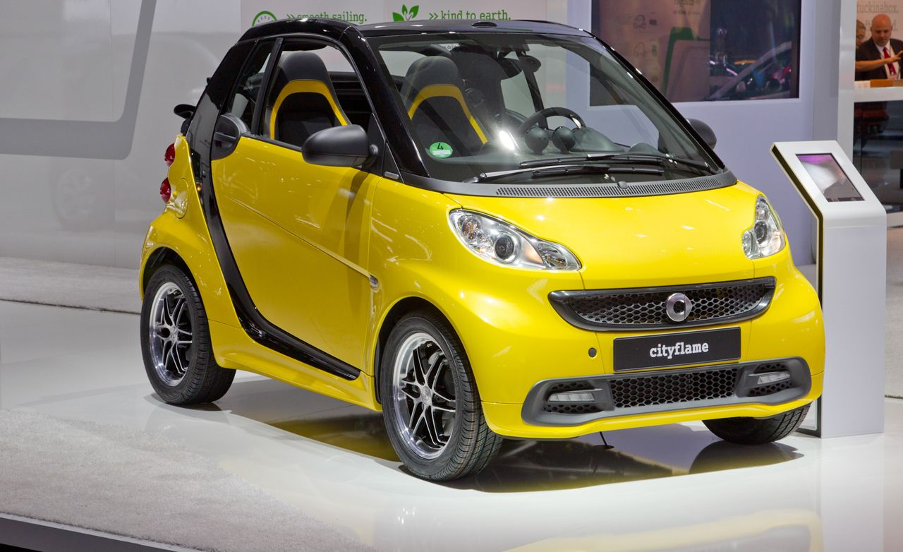2013 Smart Fortwo Cityflame Photos and Info – News – Car and Driver