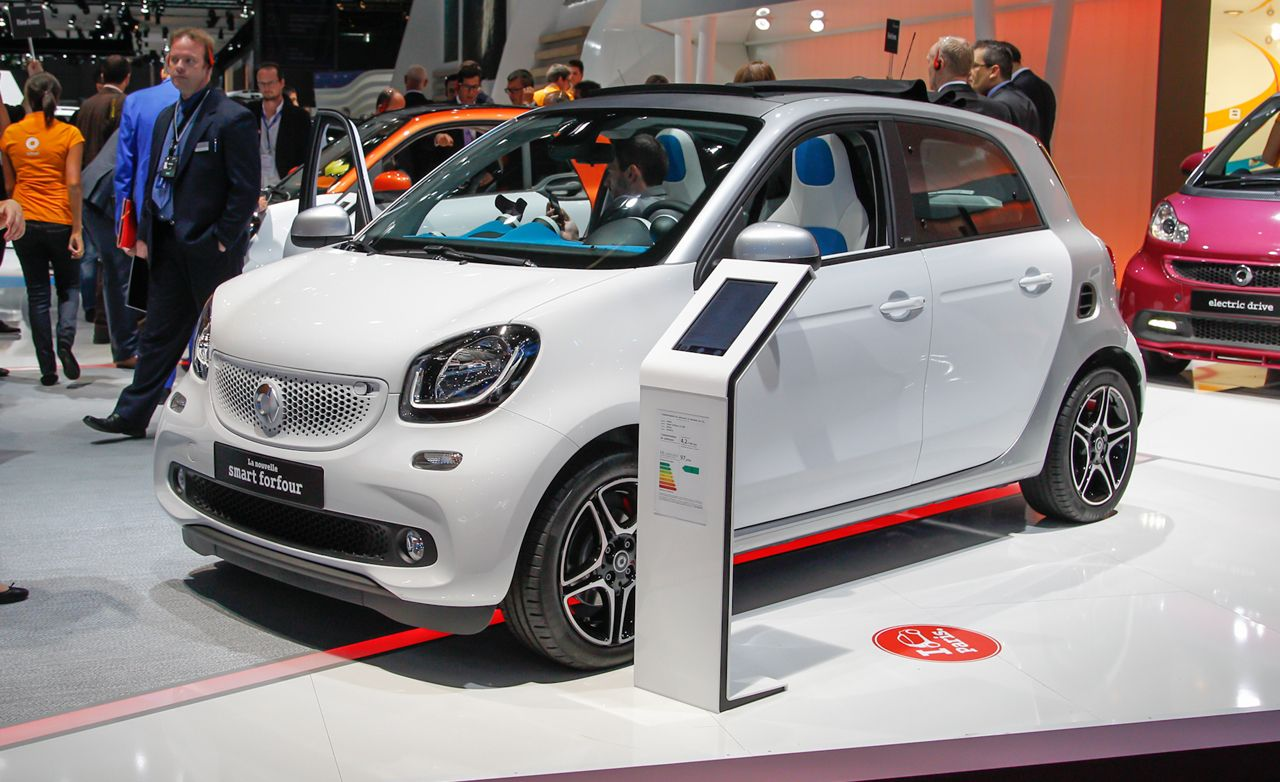 2015 Smart Forfour First Drive | Review | Car and Driver