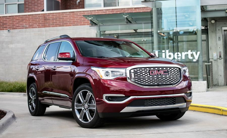 2017 GMC Acadia Denali AWD Test   Review   Car and Driver 2017 GMC Acadia Denali AWD