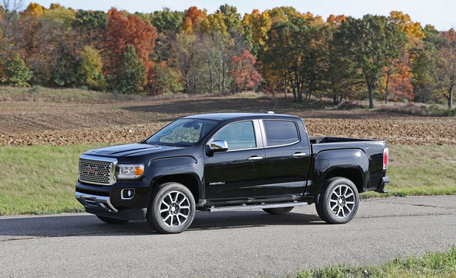 2017 GMC Canyon   In Depth Model Review   Car and Driver 2017 GMC Canyon