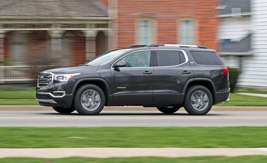 2018 GMC Acadia   In Depth Model Review   Car and Driver 2018 GMC Acadia