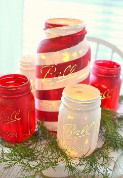 Pristine Graduation Party S Mason Jar Centerpieces Mason Jar Crafts Diy Holiday Craft Projects Mason Jar Centerpieces