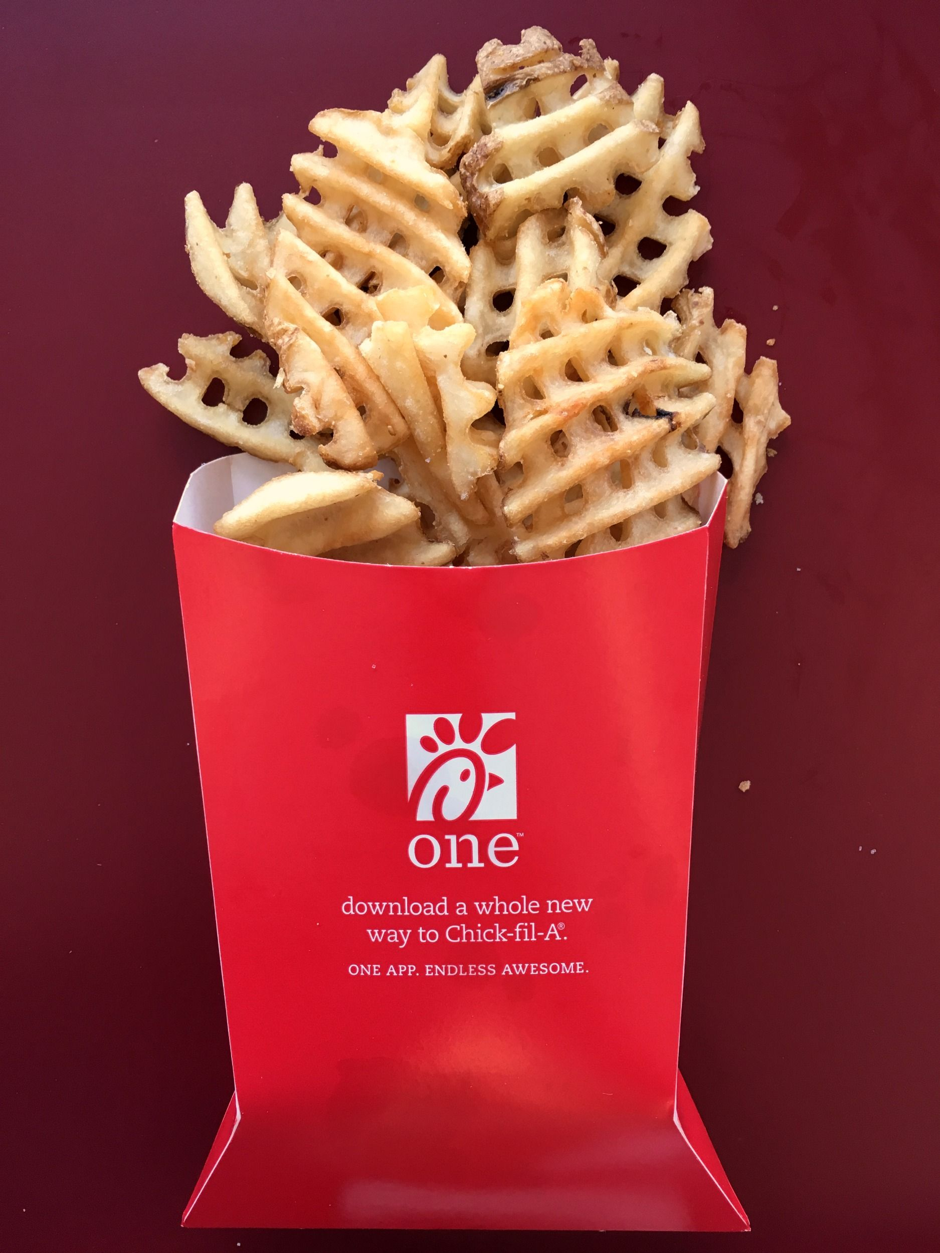Fullsize Of Chick Fil A Waffle Fries