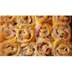 Small Crop Of Ham And Cheese Pinwheels