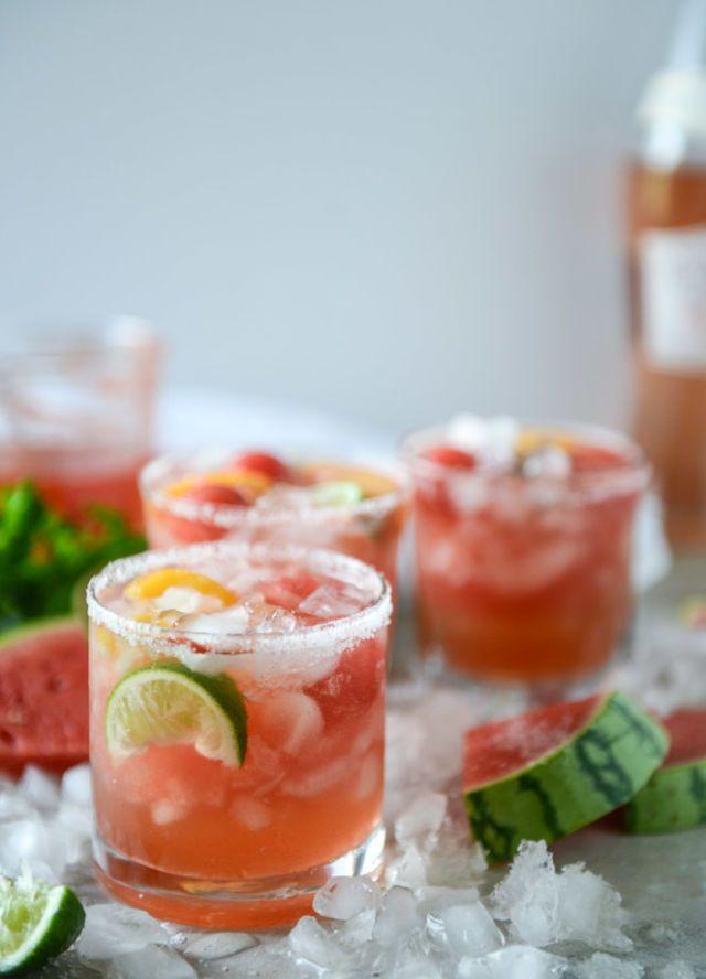 10+ Best Watermelon Alcoholic Drinks - Easy Watermelon Cocktails—Delish.com