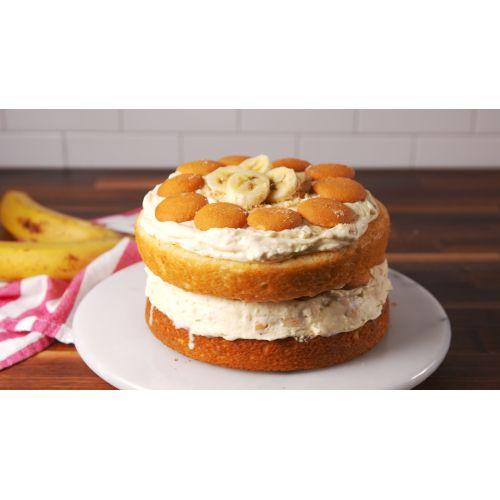 Medium Crop Of Banana Cream Cake