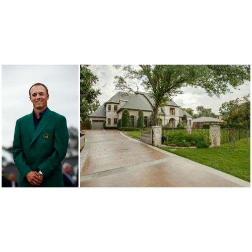 Medium Crop Of Jordan Spieth House