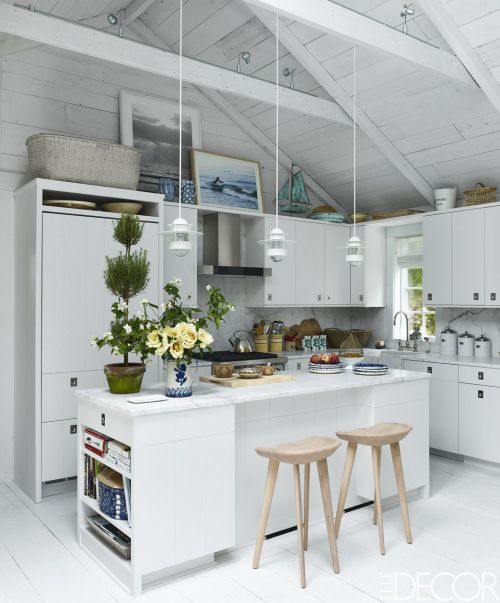 Medium Of Gray And White Kitchen Decor