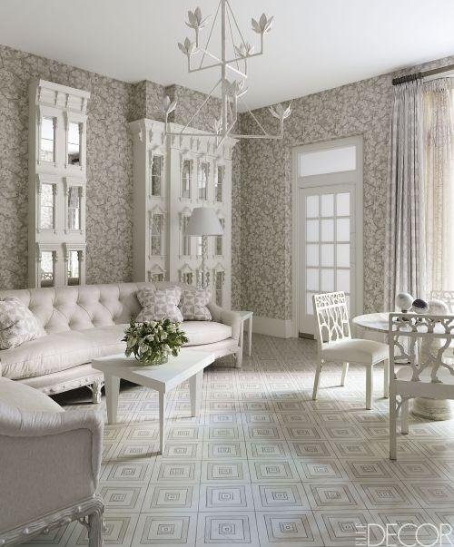 Medium Of Black And White Living Room