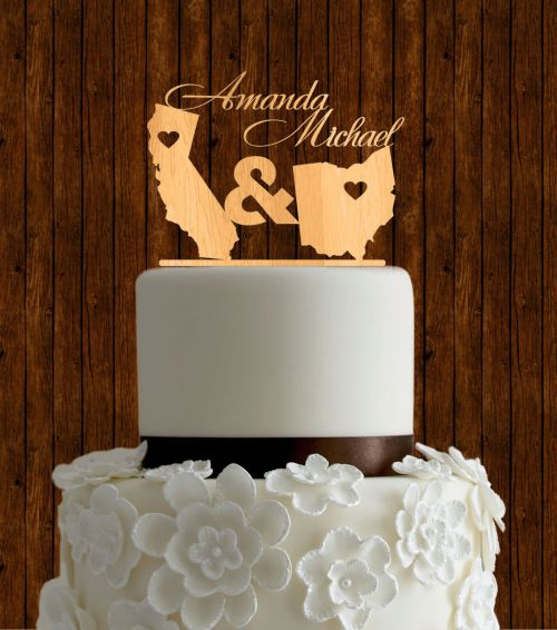 Medium Of Wedding Cake Toppers