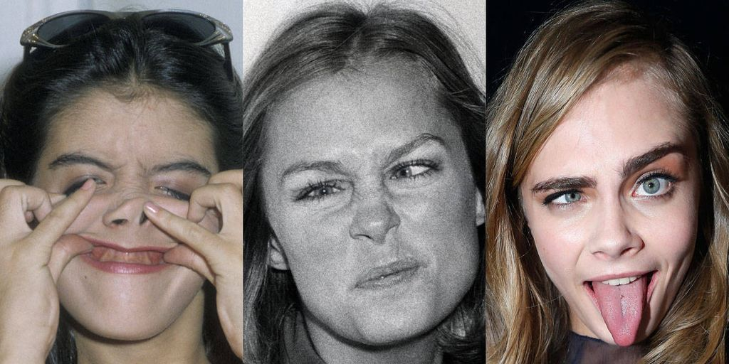 Supermodels Making Funny Faces   Kate Moss  Gisele Bundchen  and     image