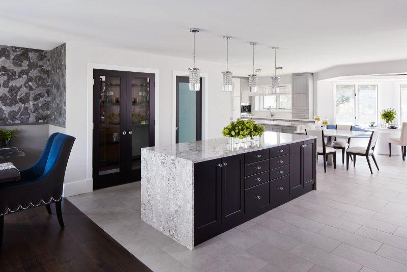 Large Of Black Kitchen Cabinets
