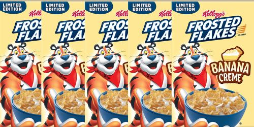 Witching Banana Creme Frosted Flakes Are Coming To Stores This January Kellogg S Frosted Flakes Nutrition Kellogg S Frosted Flakes Commercial