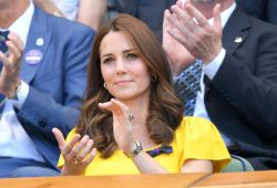 Attractive Cambridge Wore A Diamond Ring Gifted To Her Duchess Cambridge Wore A Diamond Ring Gifted To Her Bywilliam At Wimbledon Final Duchess