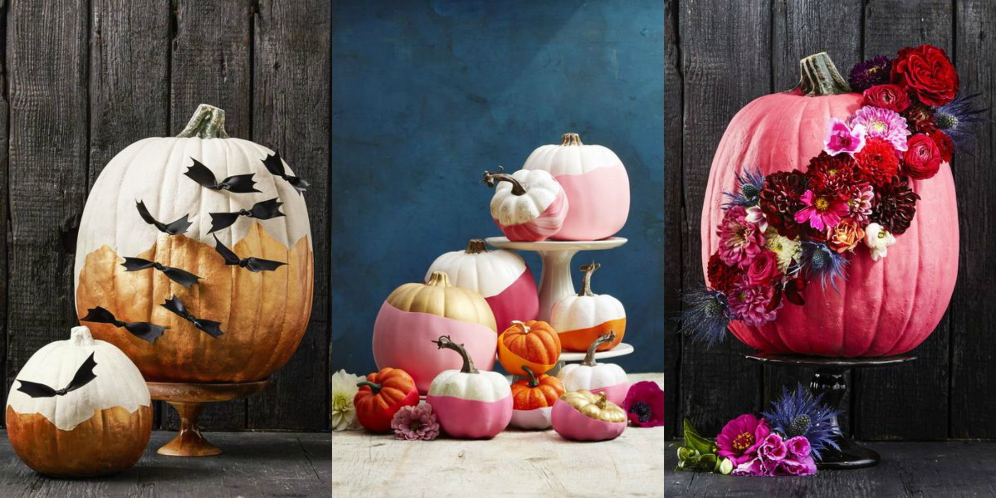 60  Pumpkin Designs We Love for 2018   Pumpkin Decorating Ideas image  Mike Garten  No carving skills
