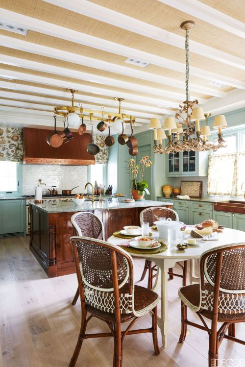 Medium Of Country Home Kitchens