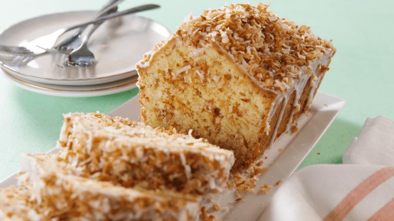 Large Of Coconut Pound Cake