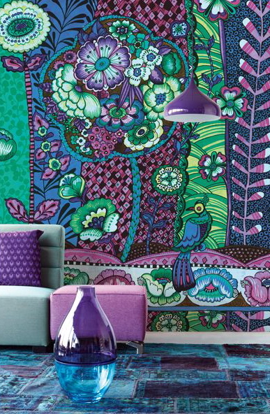 {wallcovering wednesday: should I use wallpaper or should I paint?} | Hirshfield's Color Club