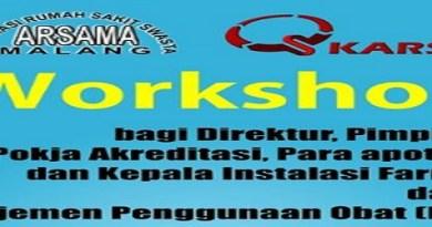 Workshop Manajemen Penggunaan Obat