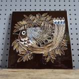 Maw and Company bird tile