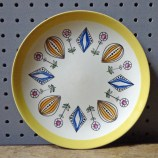 Vintage Egersund side plate | H is for Home