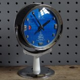 Blue Five Rams alarm clock
