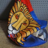 Union Jack lion teatowel
