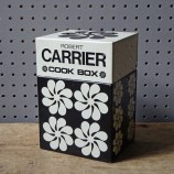 Vintage metal Robert Carrier cook box | H is for Home