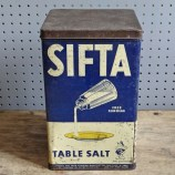 Sifta Table Salt tin