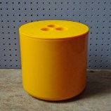 Yellow vintage Crayonne ice bucket | H is for Home