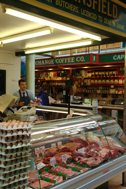 Standsfield Butchers on Todmorden Market