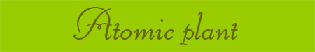 'Atomic plant' blog post banner