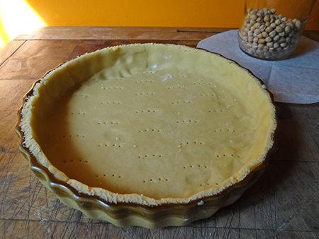 Bakewell tart shortcrust pastry base