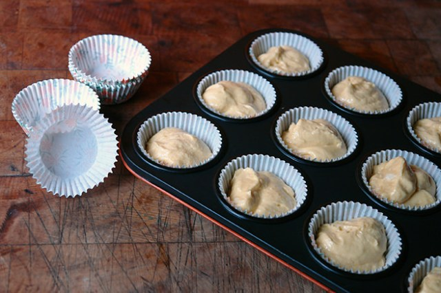 Custard Cream cupcakes before putting them in to cook | H is for Home