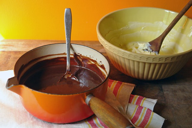 Chocolate icing filling ingredients | H is for Home