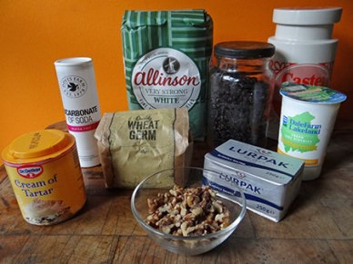 fruit and nut soda bread ingredients
