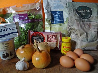 cheese soda bread ingredients