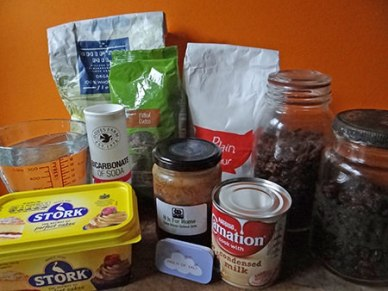 sticky date cake ingredients