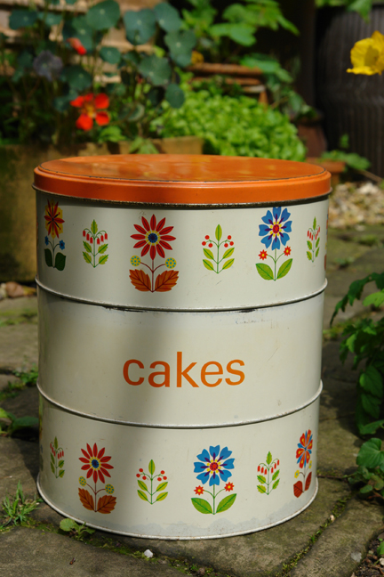 vintage three tier cake tin